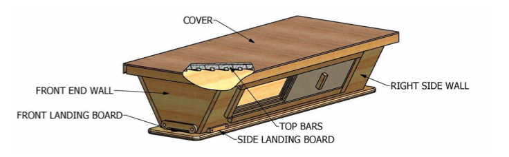 Updated Top Bar Hive Plans
